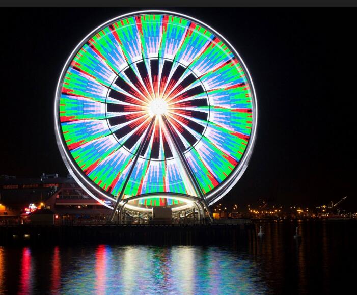 wonderful giant ferris wheel