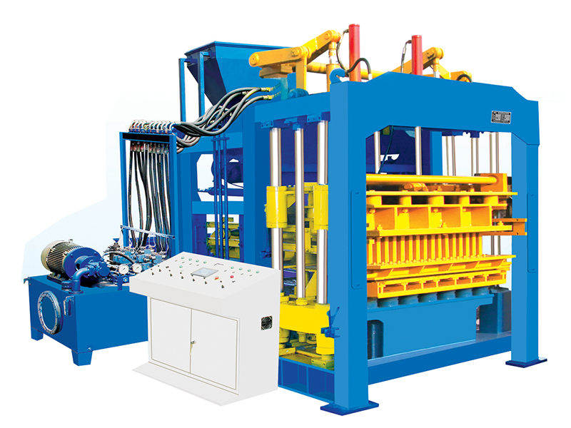 QT12-15 interlocking brick machine