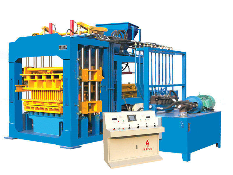 QT8-15C interlocking brick making machine