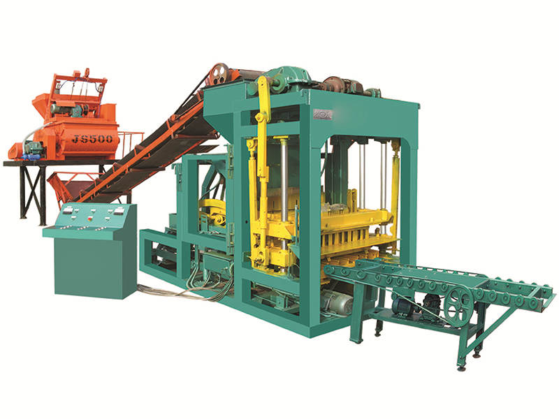 QTJ4-25 hollow block amking machine