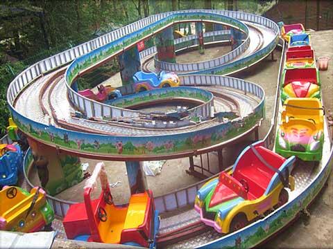 Kiddie Roller Coaster Track
