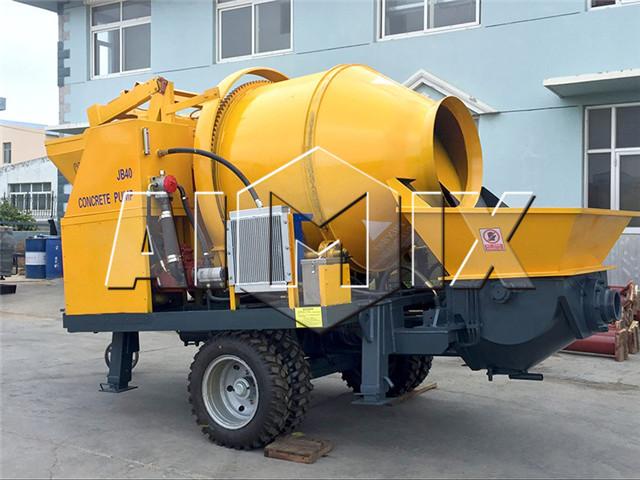 Concrete Mixer Pumps For Sale