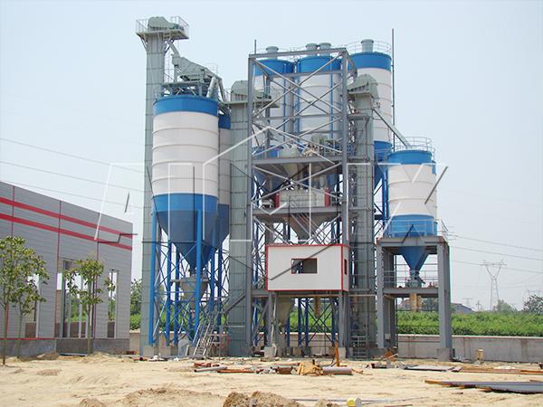 куплю линия по производству сухих строительных смесей из Китая