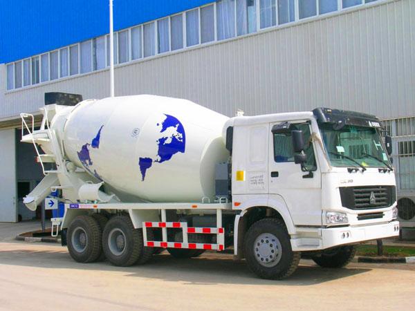 14m3 new concrete mixer truck