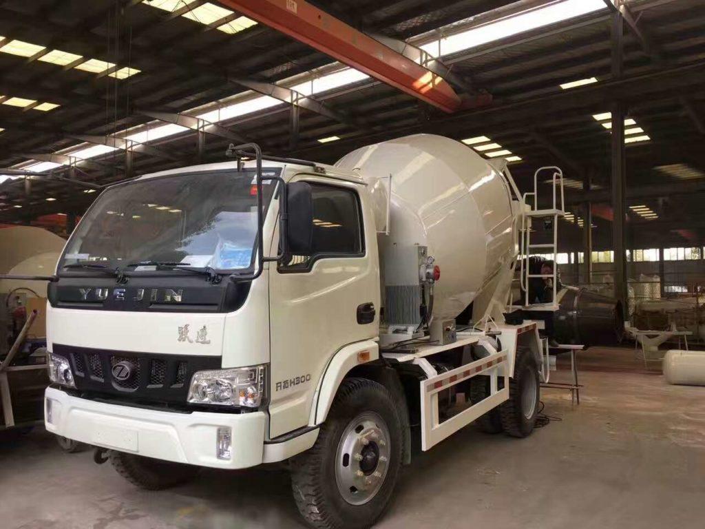 cost of concrete truck